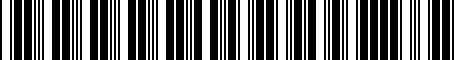 Barcode for 000061127C