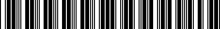 Barcode for 000071129N