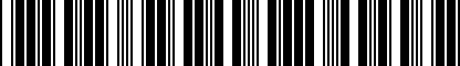 Barcode for 5C7064365