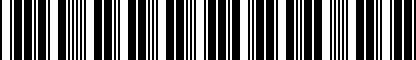 Barcode for 5G0072530