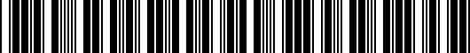 Barcode for 5GV061678041