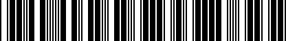 Barcode for 6Q0071737