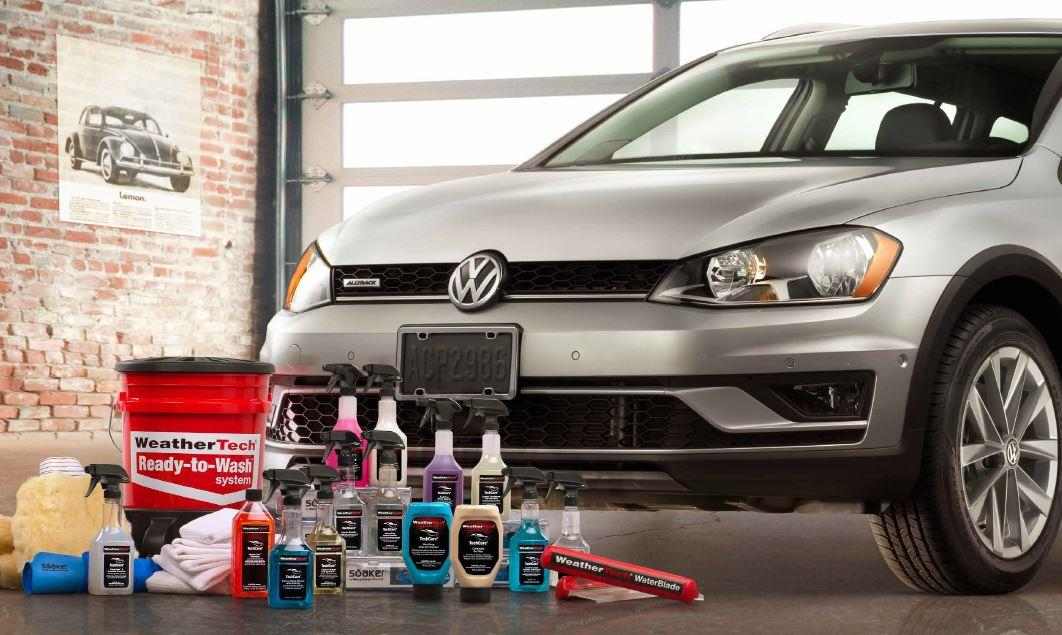 Diagram WeatherTech® TechCare® Launch Package for your 2014 Volkswagen GTI
