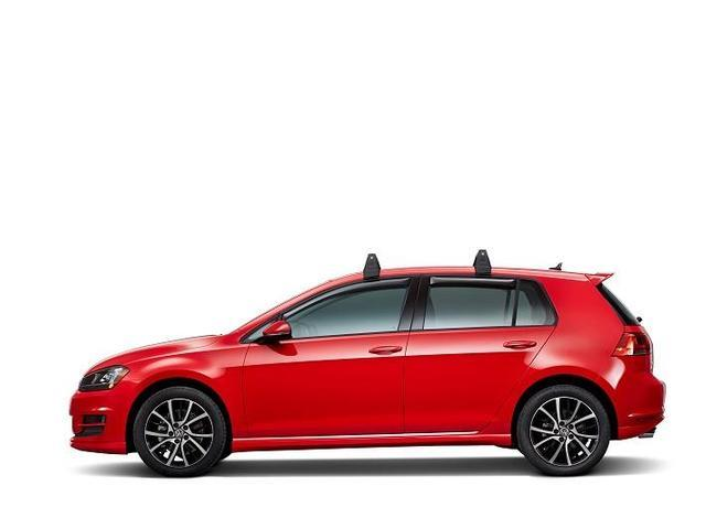 Diagram Base Carrier Bars  (2 door) (5G3071126) for your 2017 Volkswagen e-Golf